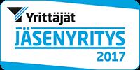 Suomen Yrittäjät jäsenyritys 2017